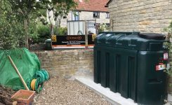 Oil Tank Installation Langport